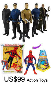 US$99 for Action Toys: Online Shopping with Free Shipping